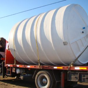 estanque 40.000 lts. transportado